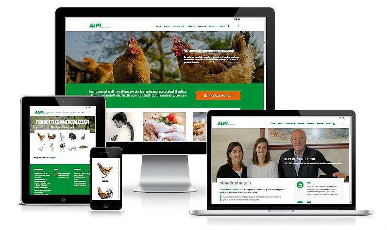 Online il nuovo sito web di ALPI Import Export